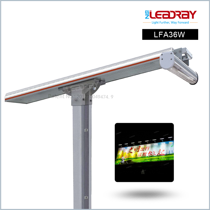 Integrated Solar LED Advertising Billboard Lighting LFA36W