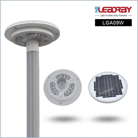 9W Integrated Solar Led Garden Light For Garden ...