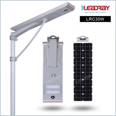 30W Solar Power Led Street Lighting