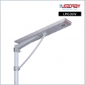 30W Solar Power Led Street Lighting Integrated With Motion Sensor