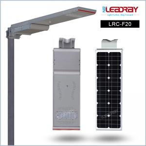 20W All In One Solar Street Lights