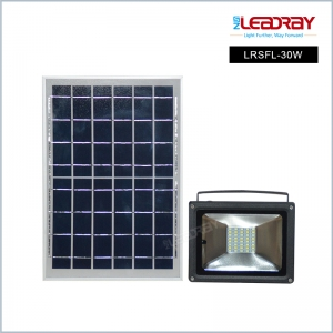 30W Solar LED Flood Light