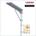 20W Integrated Solar Advertising LED Light Box In Pole With Street Light