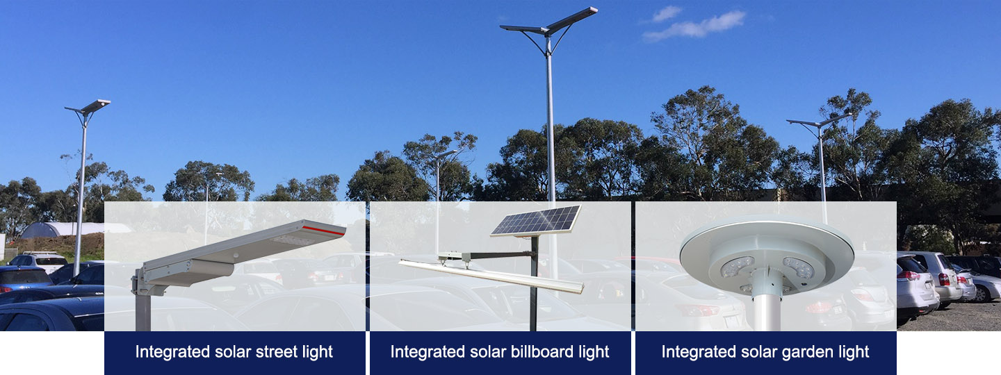 China 20W Integrated Solar Street Light