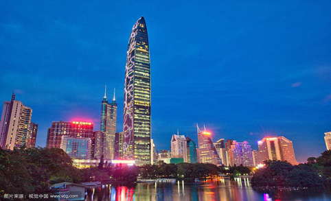 Today, a big show for you - Shenzhen Futian CBD Lighting Project