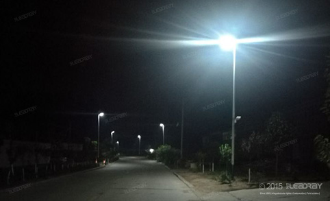 Hubei Village Highway All In One Solar Street Lights Project